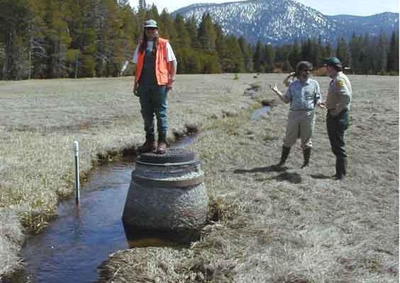 angora sewer reach before restoration